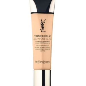 YSL Touche Éclat All-In-Glow Fresh Dewy Makeup